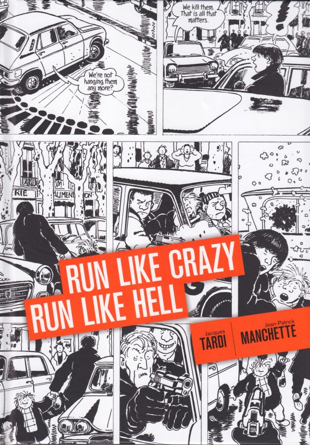 Run Like Crazy, Run Like Hell - cover