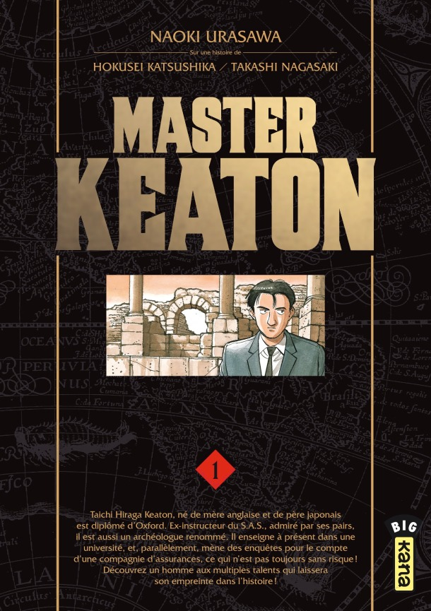 Master Keaton vol 1 - cover