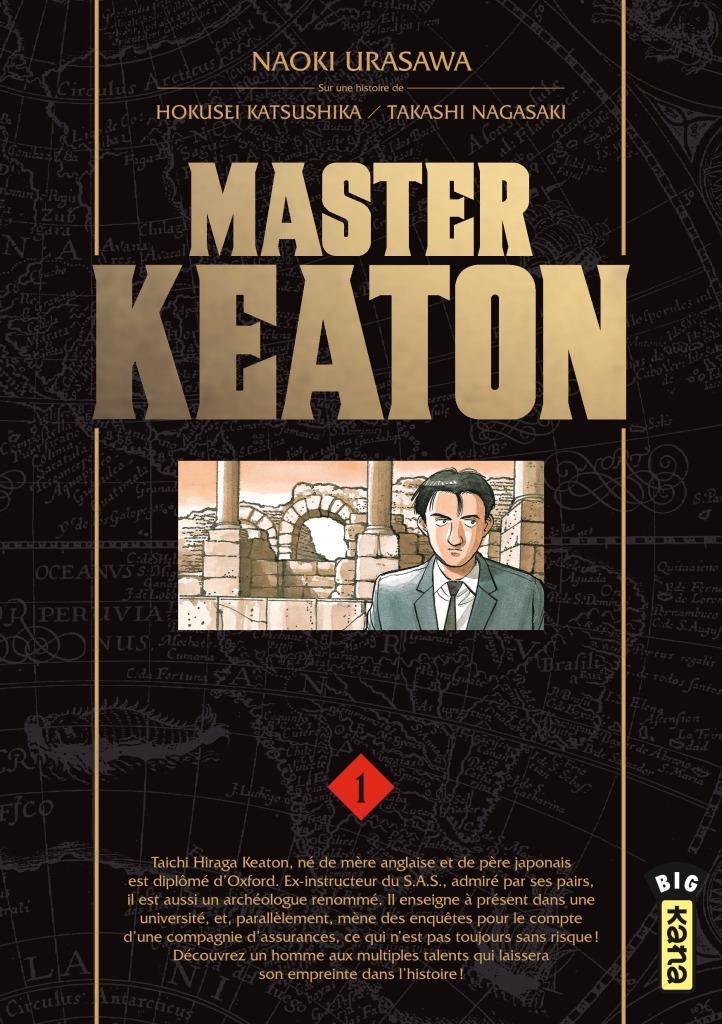 Master Keaton vol 1 - cover