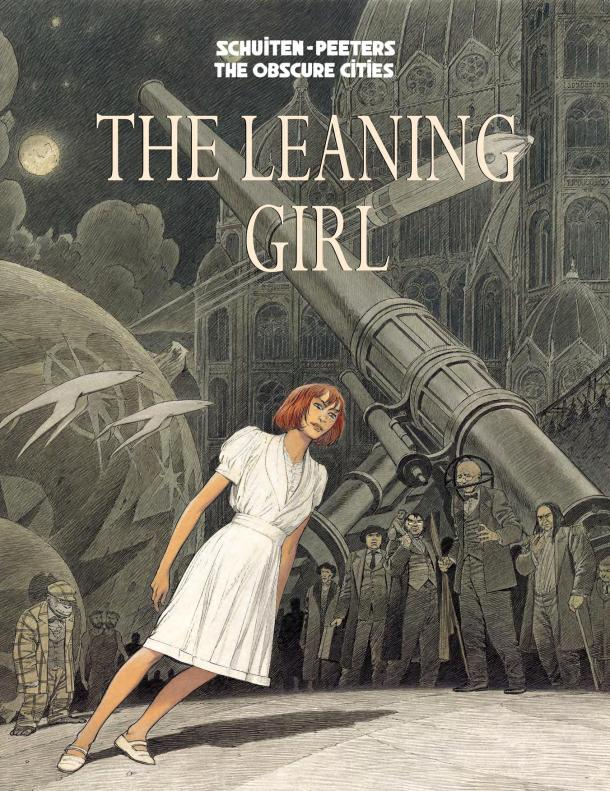 The Leaning Girl - cover