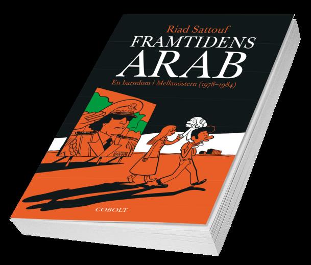 Framtidens arab - omslag (liggande)