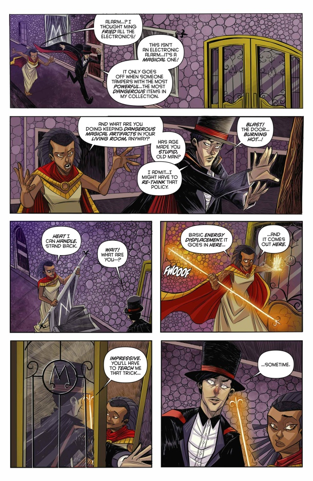 King - Mandrake the Magician - Karma