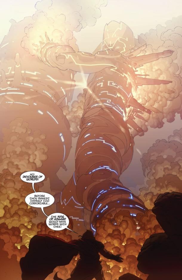 Thor - God of Thunder - Galactus