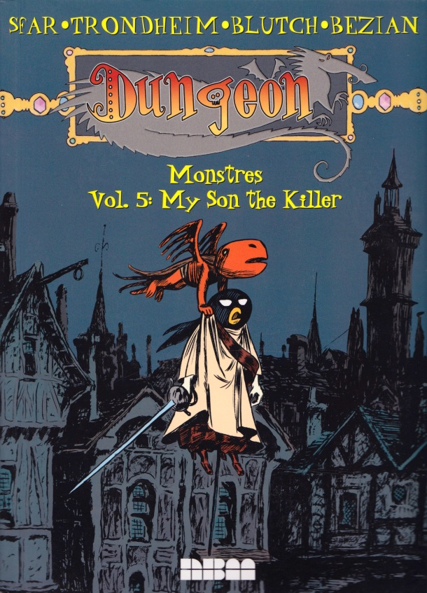 Dungeon - My Son the Killer - cover