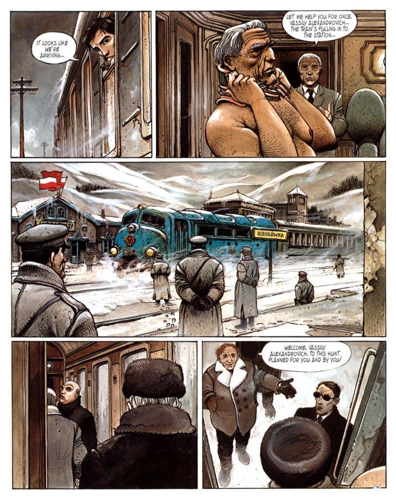Jakten - Tåg