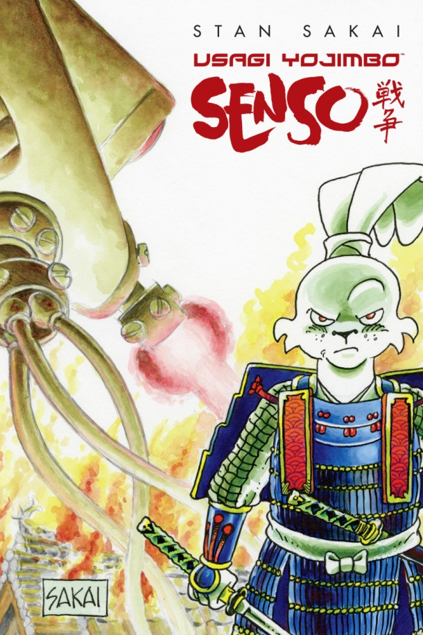 Usagi Yojimbo - Senso - cover