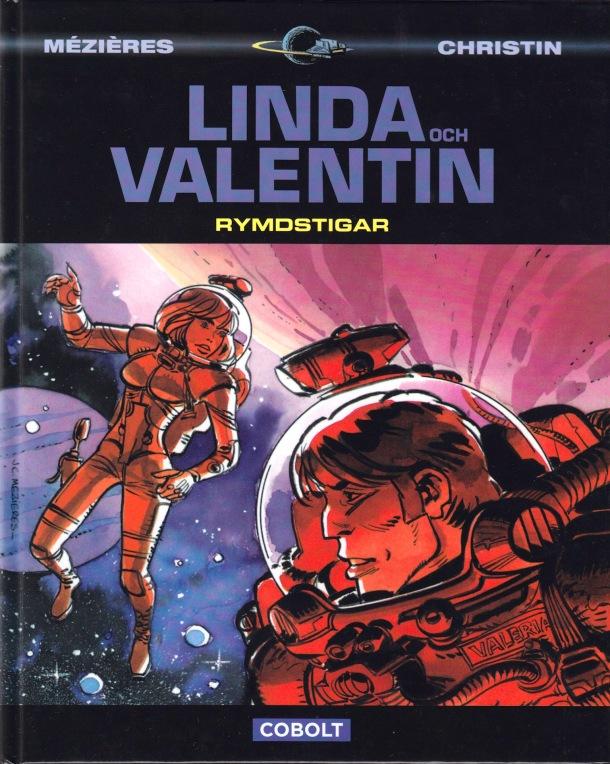 Linda och Valentin - Rymdstigar - omslag
