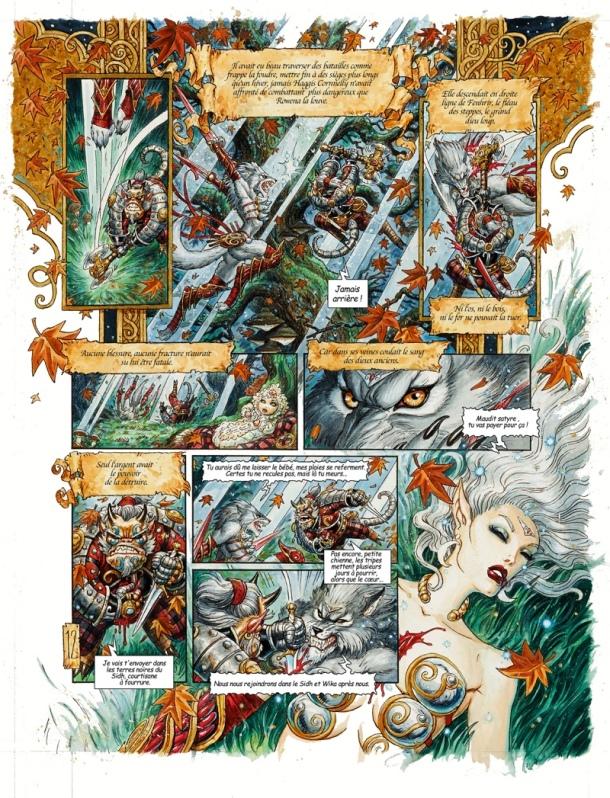 Wika och Oberons raseri - Slagsmål
