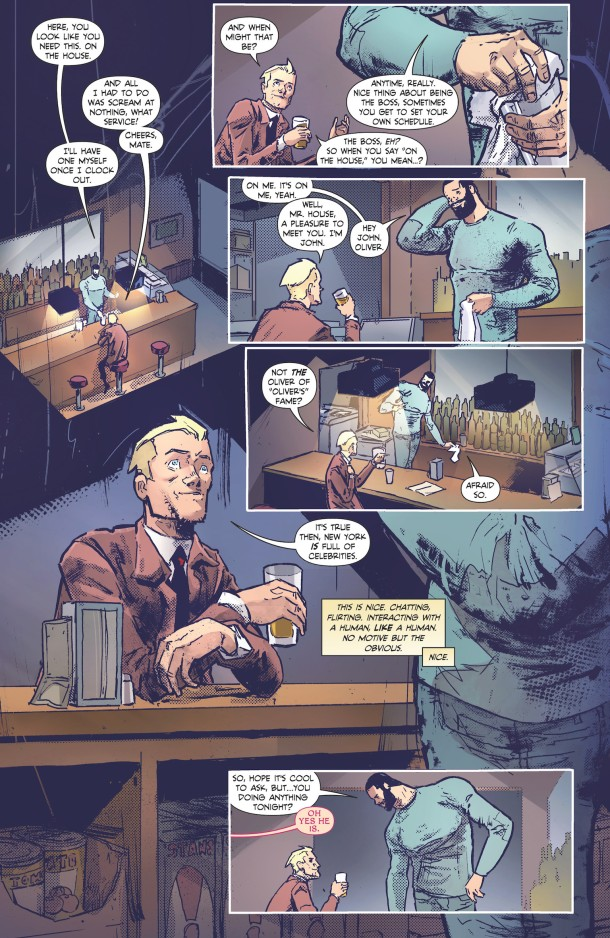 Constantine - The Hellblazer - flirting