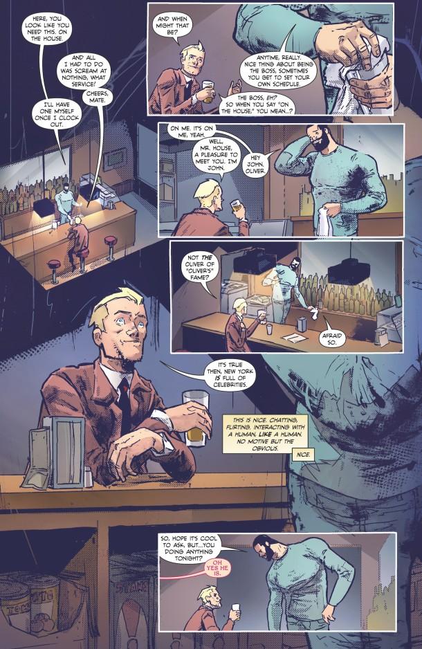 Constantine - The Hellblazer - flirting