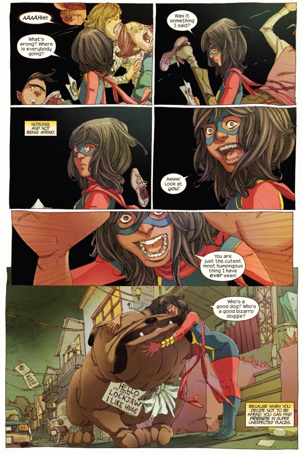 Ms. Marvel - Lockjaw