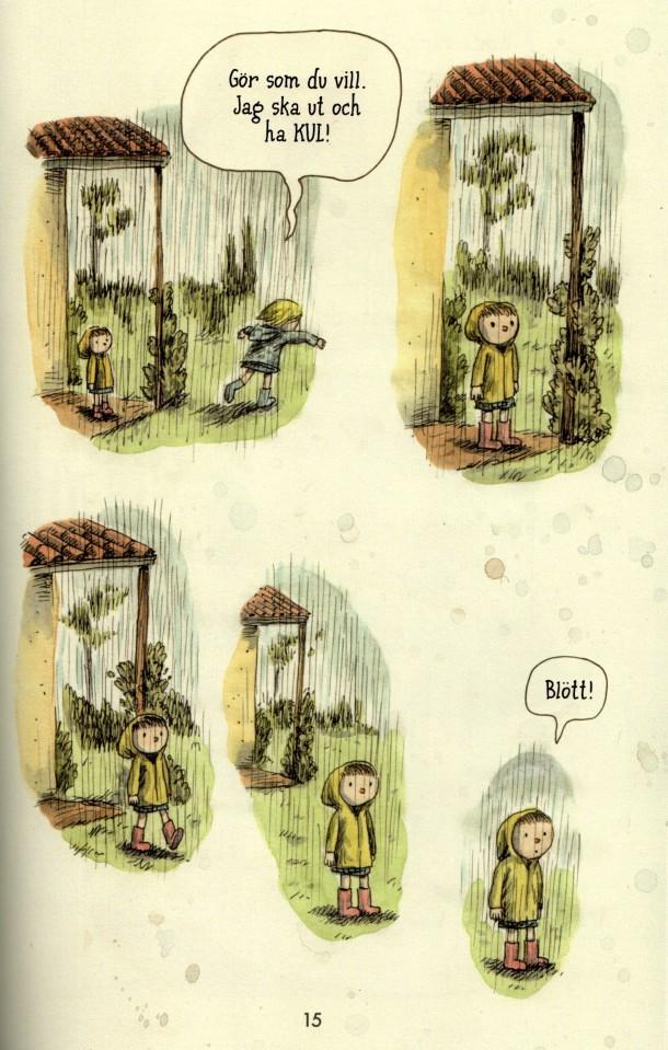 Regnballongen - Blött