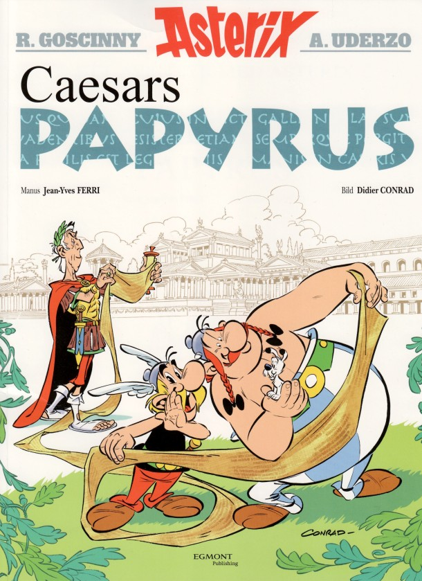 Caesars papyrus - omslag