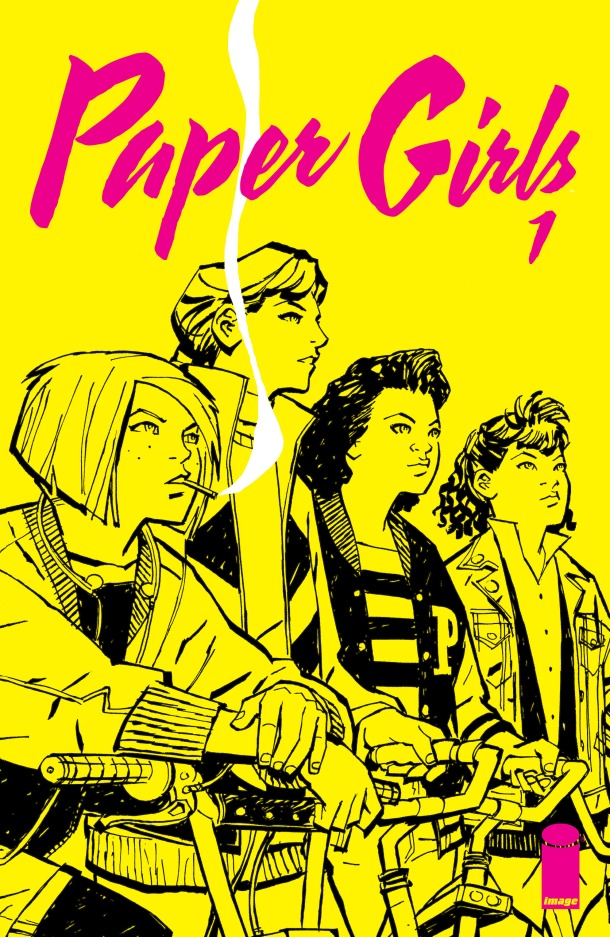 Paper Girls 1 - cover