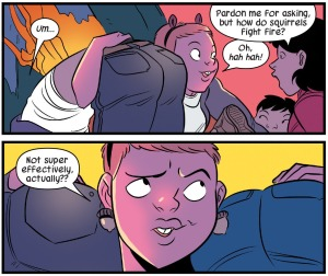 The Unbeatable Squirrel Girl - Fire fighting