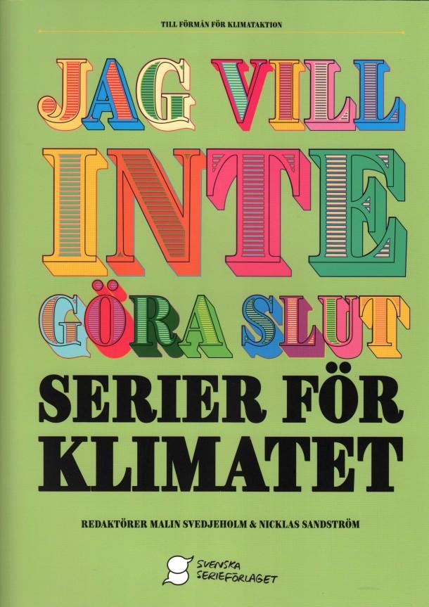 Serier för klimatet - omslag