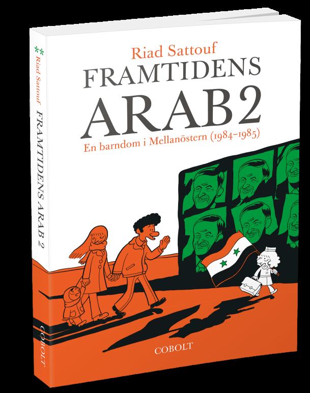 Framtidens arab 2 - omslag