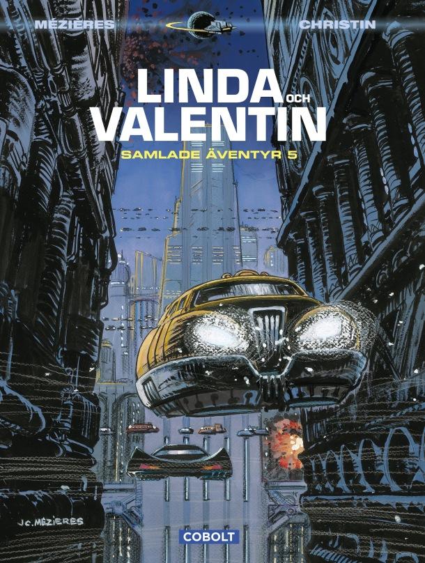 Linda och Valentin samlade äventyr 5 - omslag