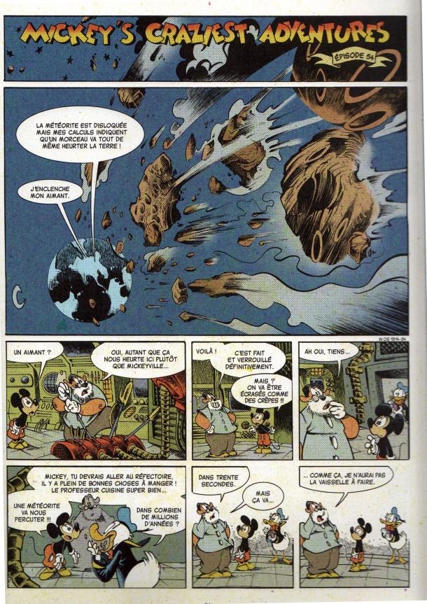 Mickey's Craziest Adventures - meteor