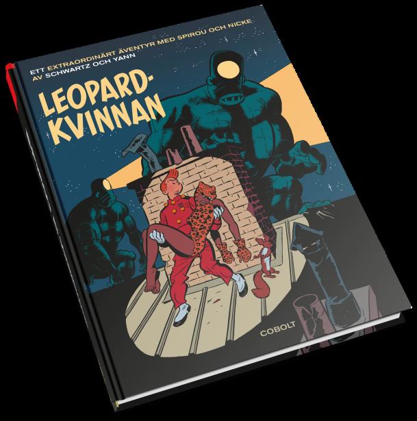 Spirou - Leopardkvinnan - omslag
