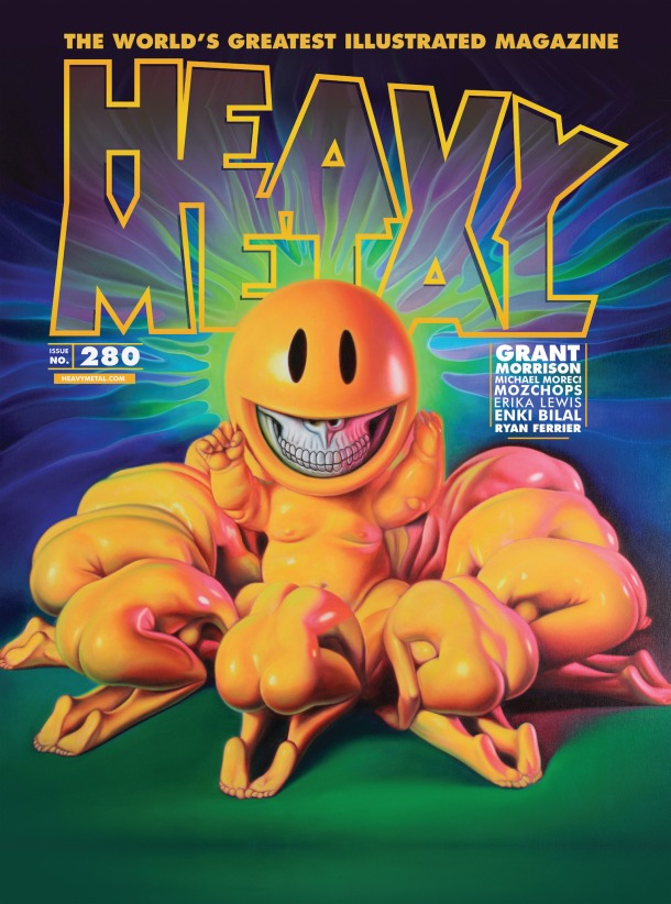 Heavy Metal 280 - cover