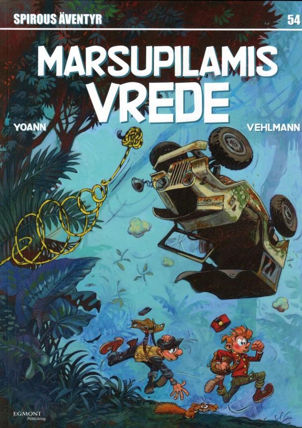 Marsupilamis vrede - omslag