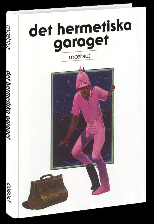 Det hermetiska garaget - omslag