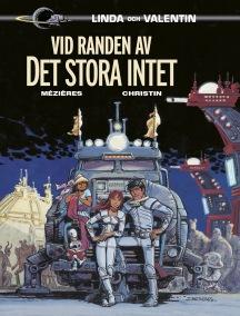 Linda och Valenting - Vid randen av Det stora intet - omslag