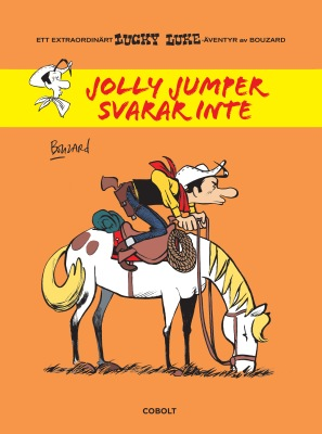 Lucky Luke - Jolly Jumper svarar inte - omslag