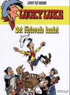 Lucky Luke - Det förlovade landet - omslag