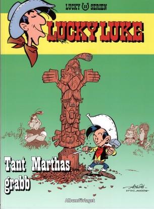 Lucky Luke - Tant Marthas grabb - omslag