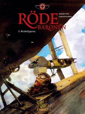 Röde baronen 2 - omslag
