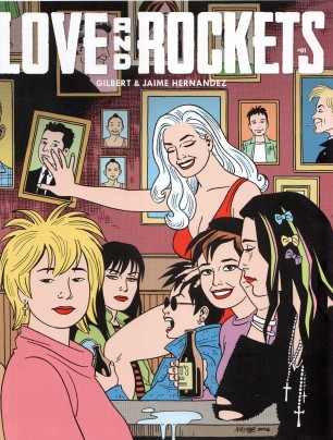 Love and Rockets v4-1 - cover