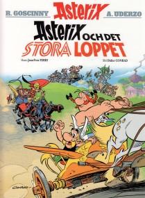 Asterix och det stora lopper - omslag