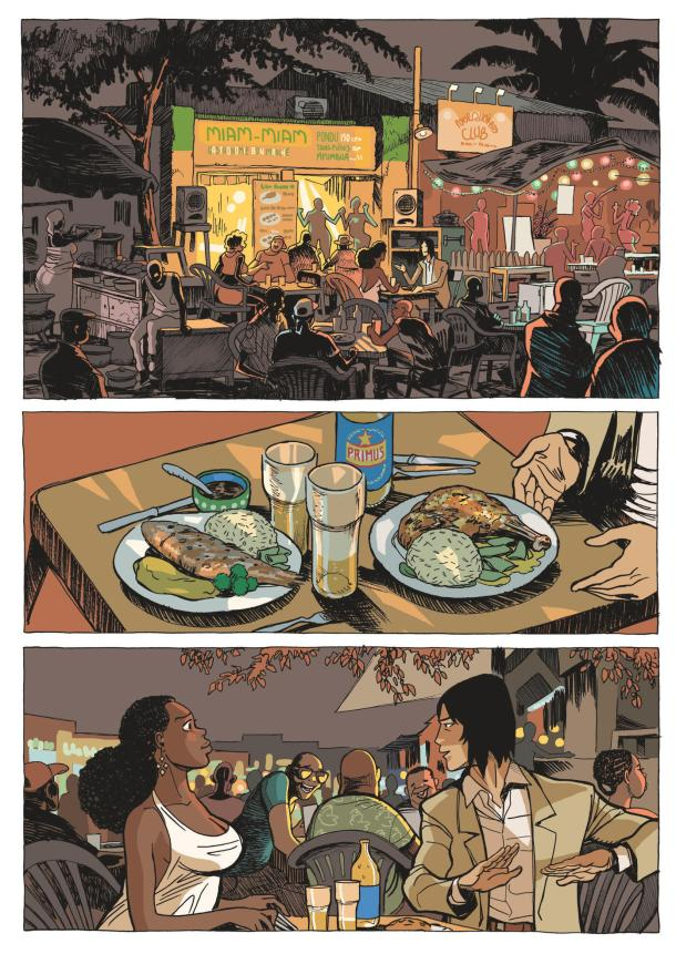 African Trilogy 3 - restaurang