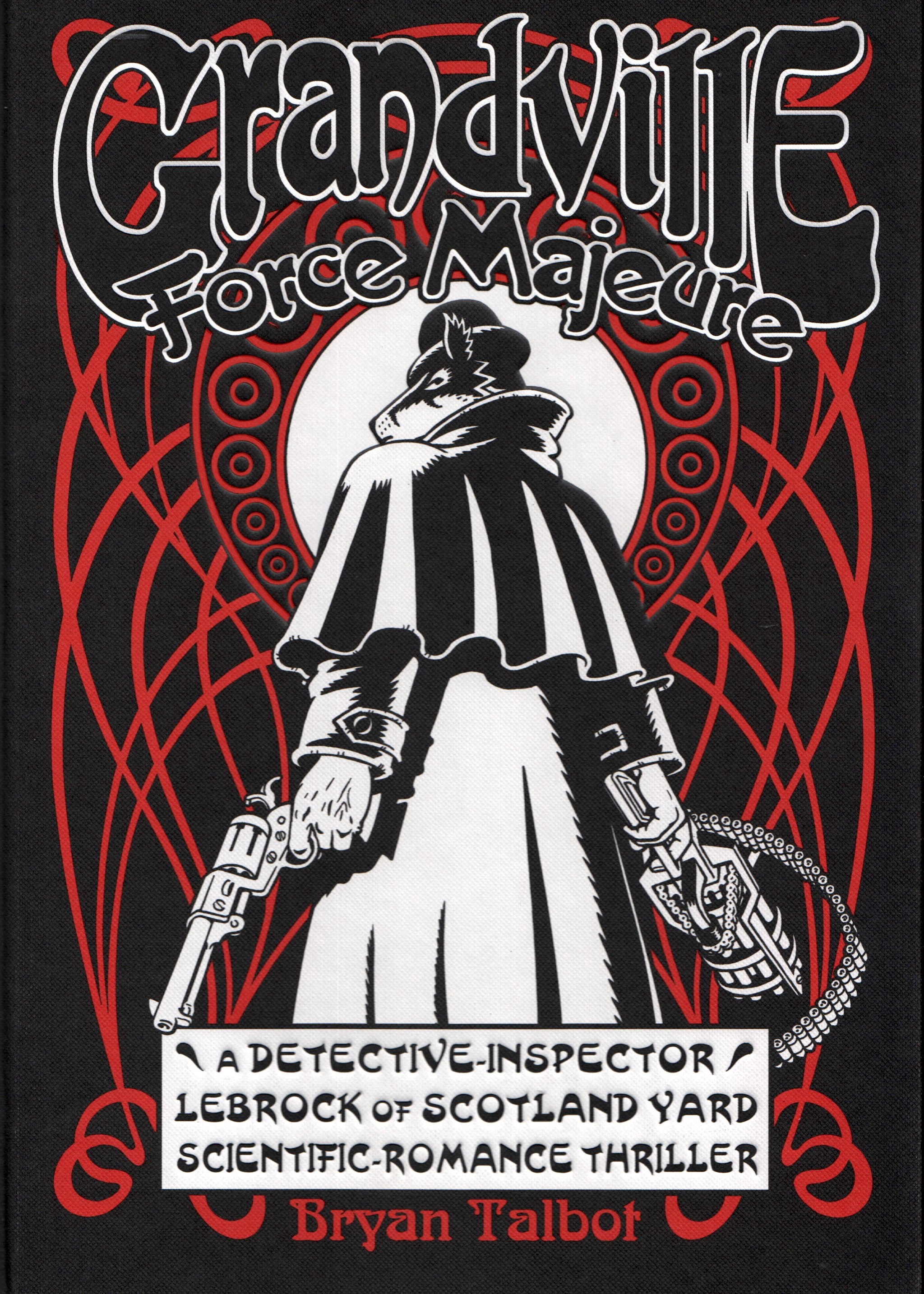 Grandville - Force Majeure - cover