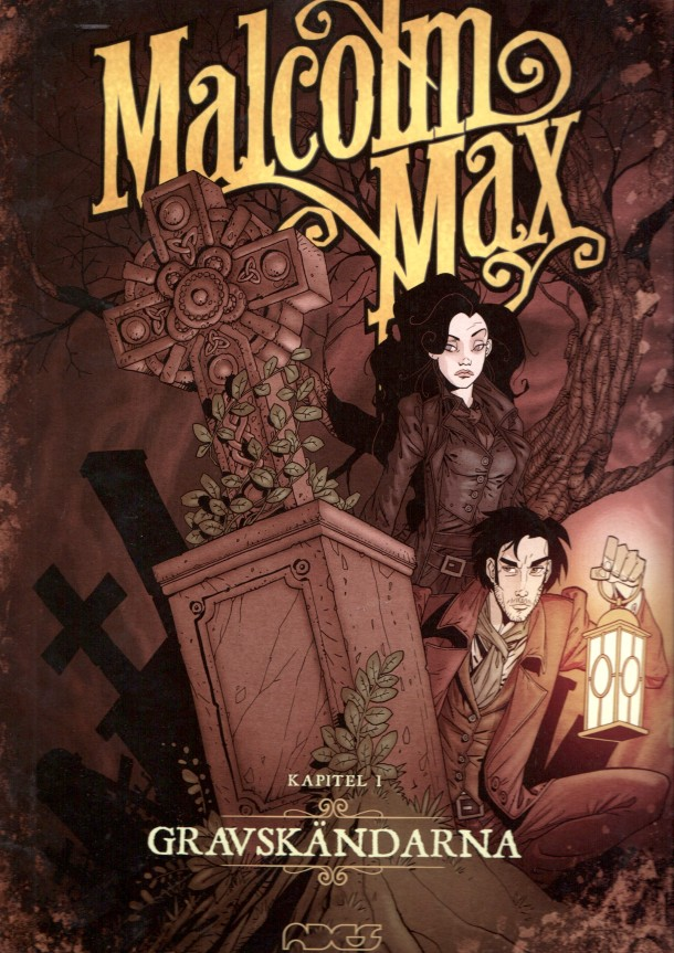 Malcolm Max 1 - omslag
