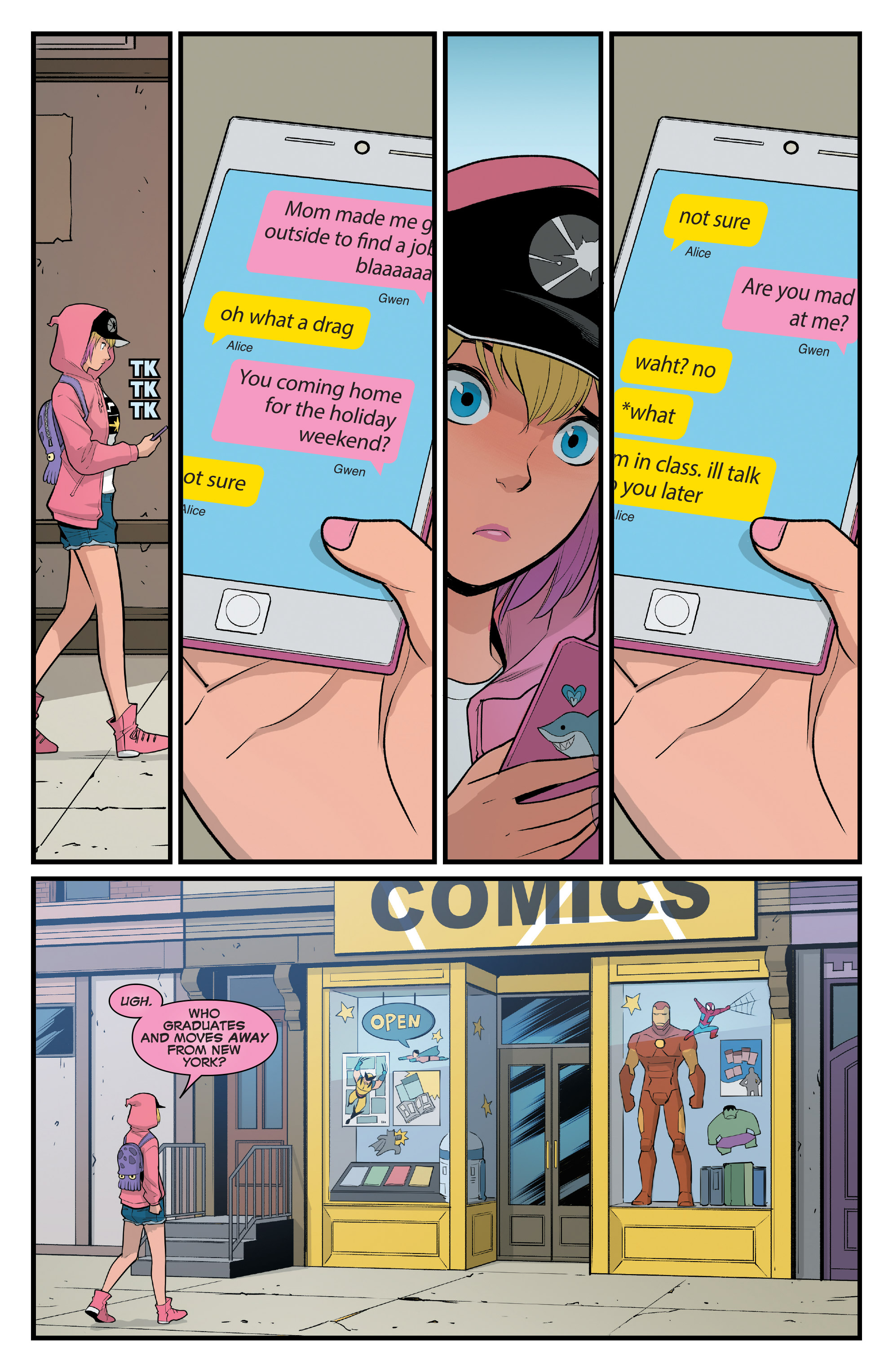 The Unbelievable Gwenpool - NY