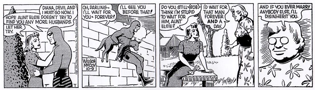 Fantomen - moster Elsie