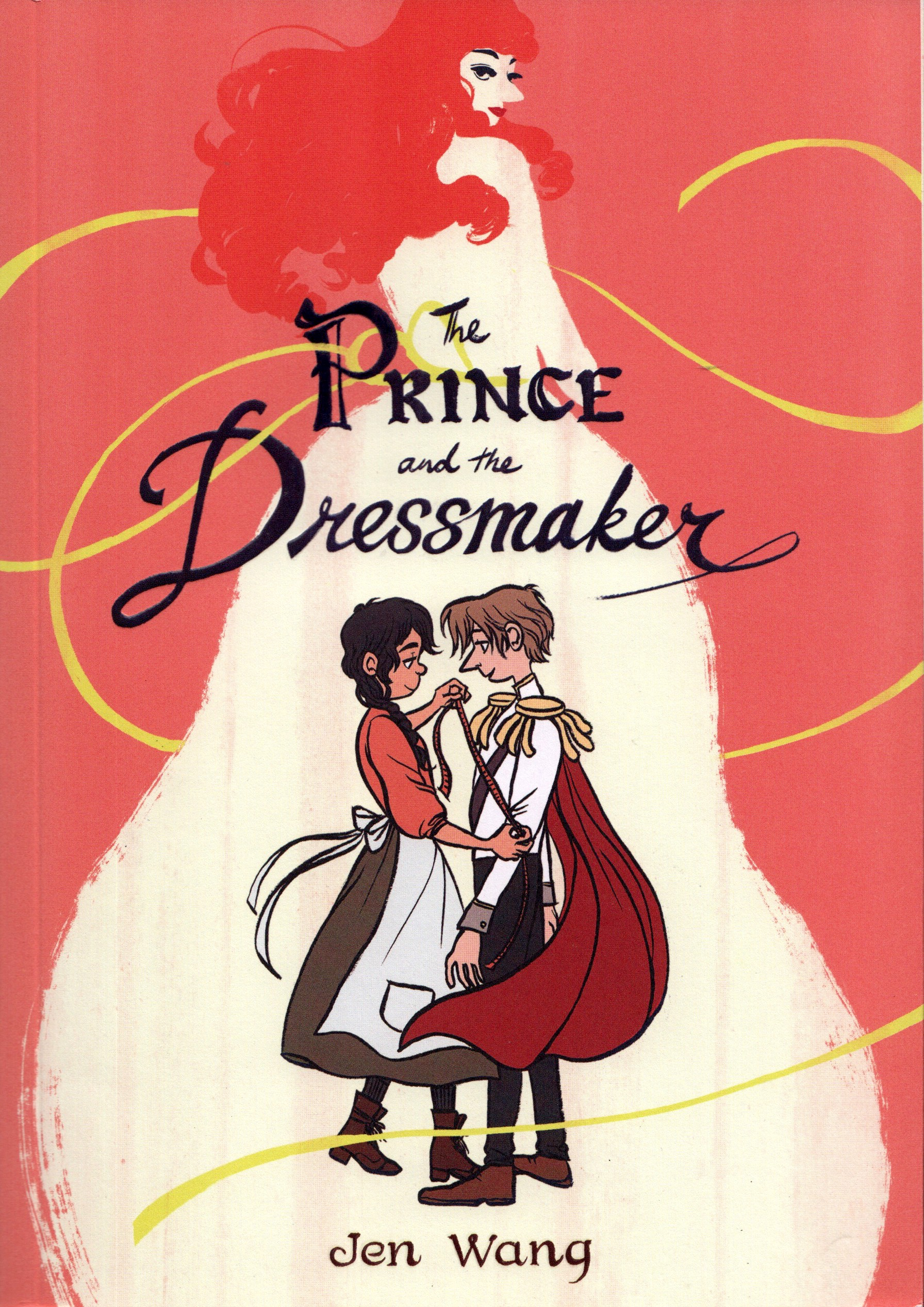 The Prince and the Dressmaker - cover