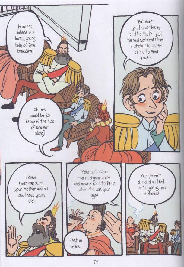 The Prince and the Dressmaker - föräldrar