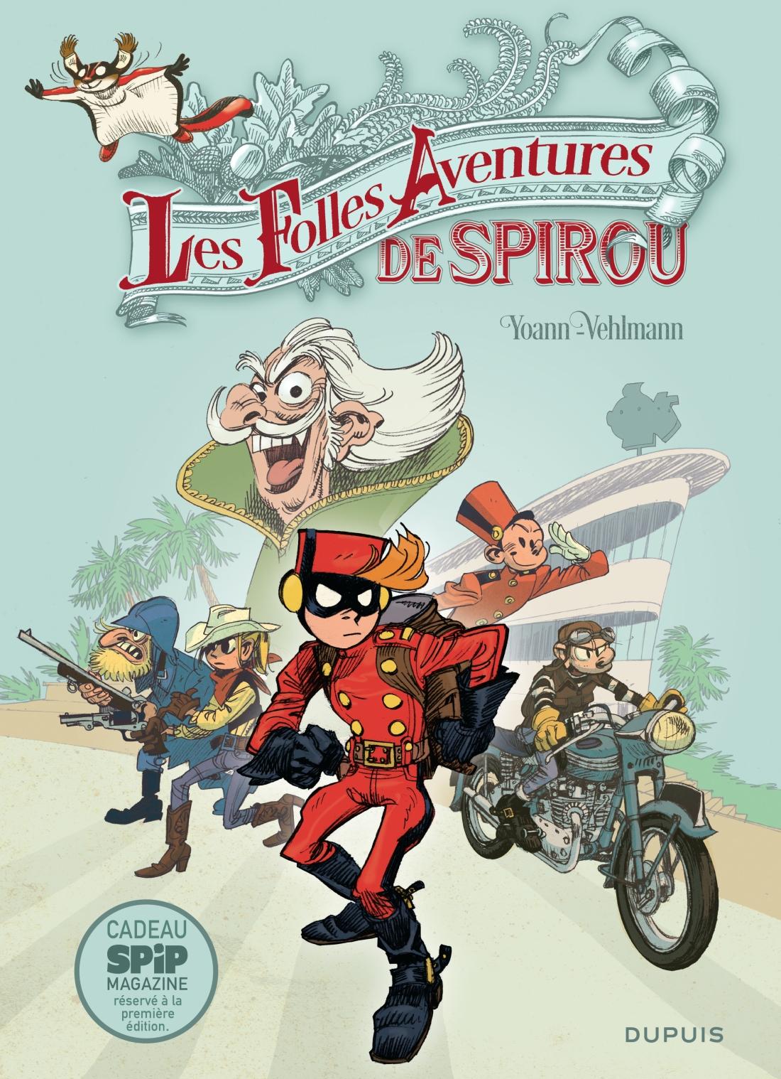Les folles aventures de Spirou - omslag.jpg
