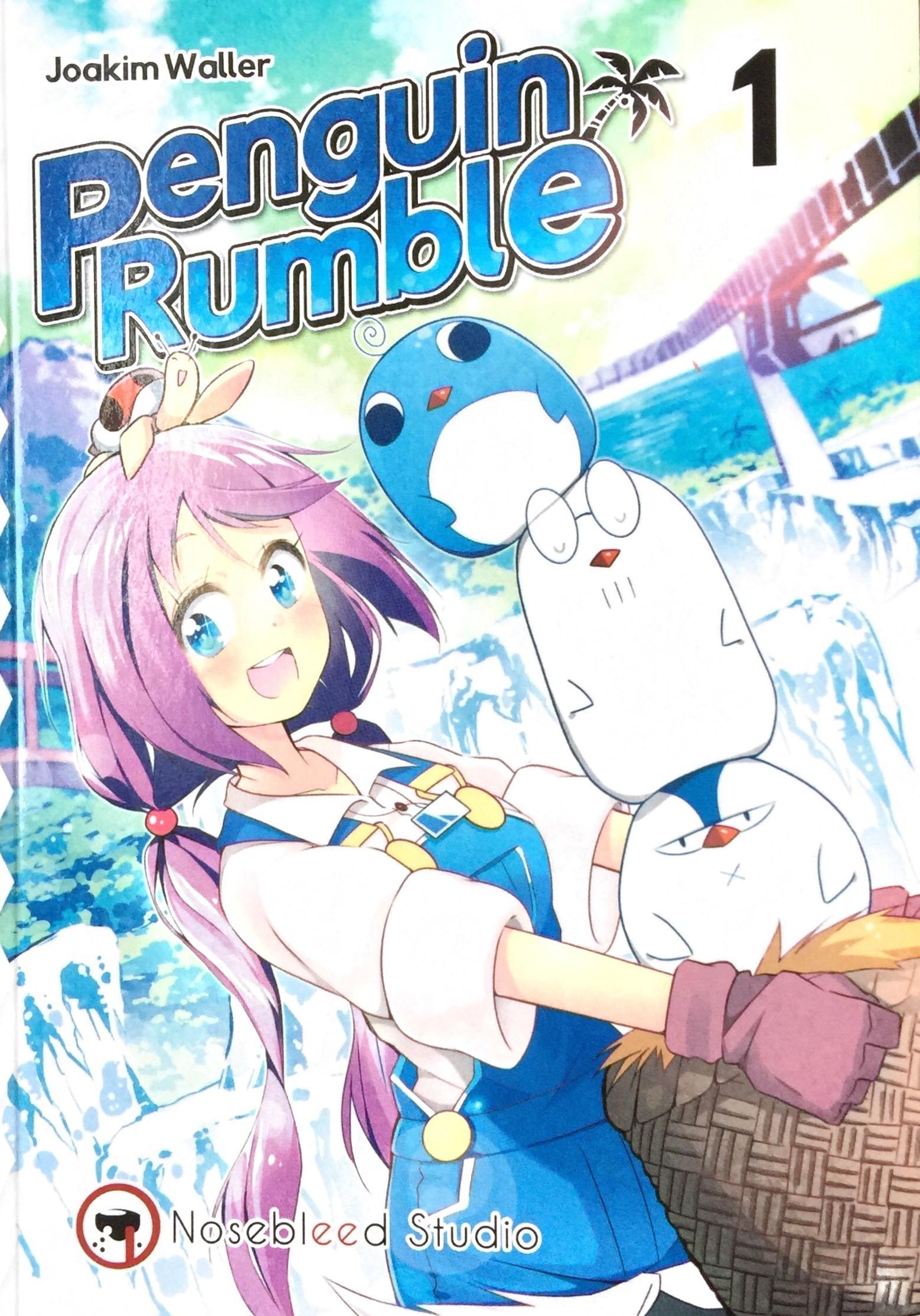 Penguin Rumble - omslag