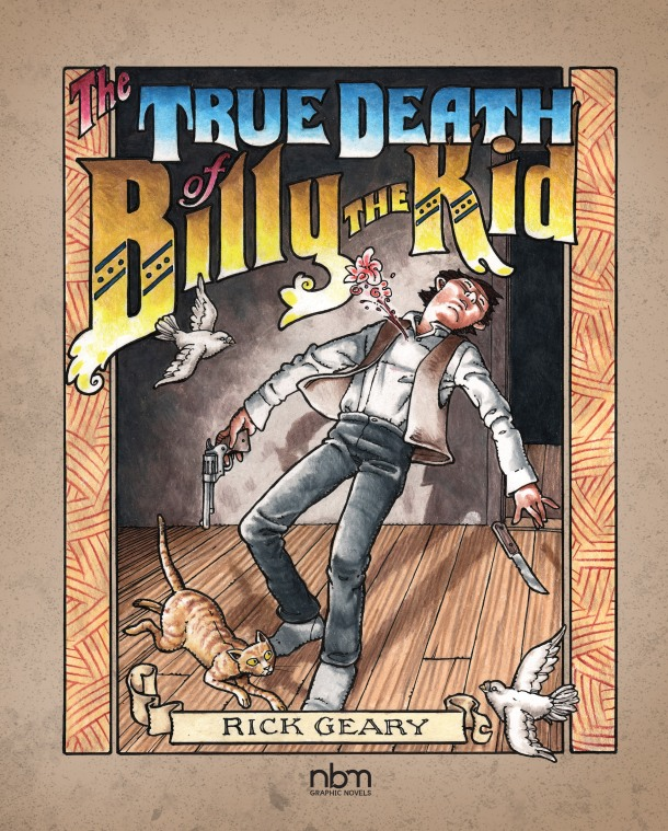 The True Death of Billy the Kid - cover