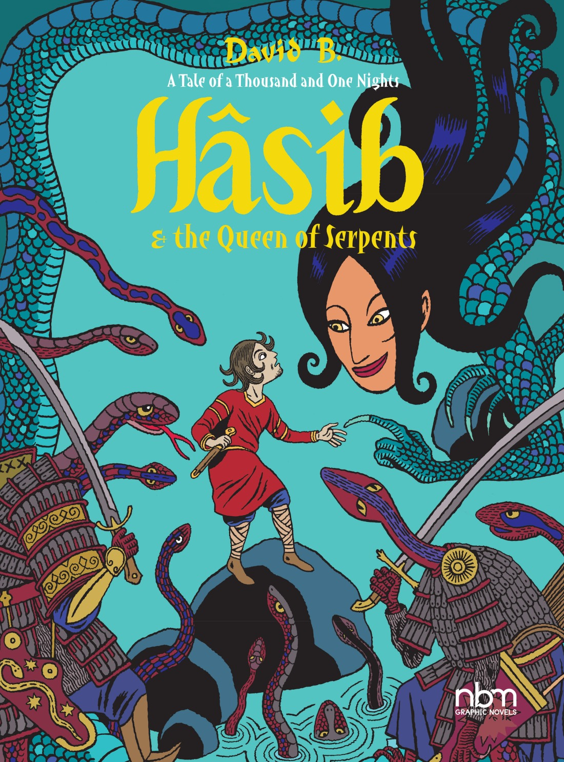 Hasib & the Queen of Serpents - A Tale of a Thousand and One Nights - cover