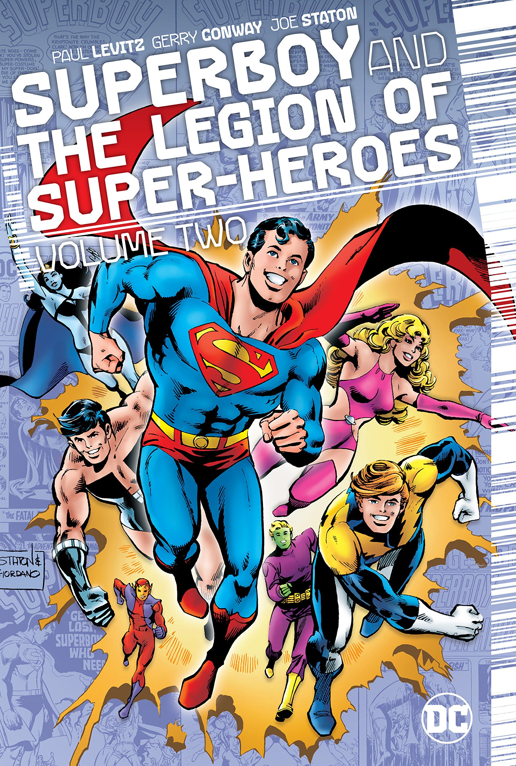 Superboy and The Legion of Super-Heros Volume Two - cover