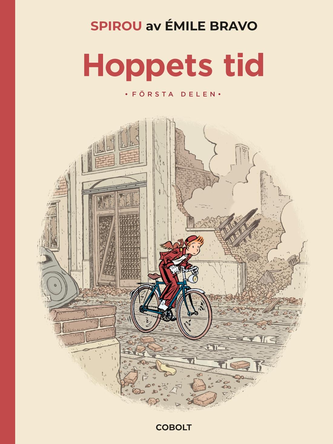 Spirou - Hoppets tid 1 - omslag