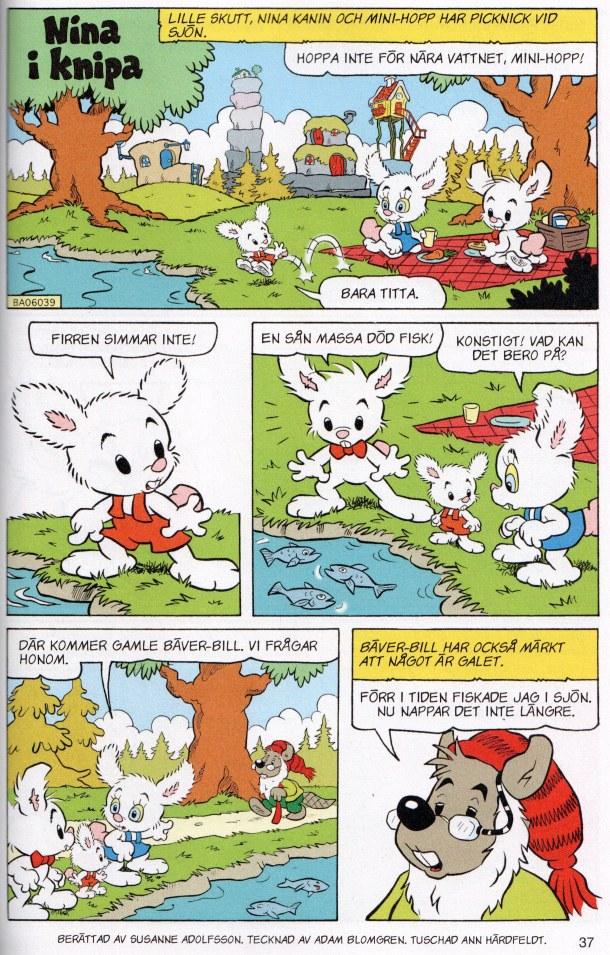 Bamse - Nina i knipa - serie