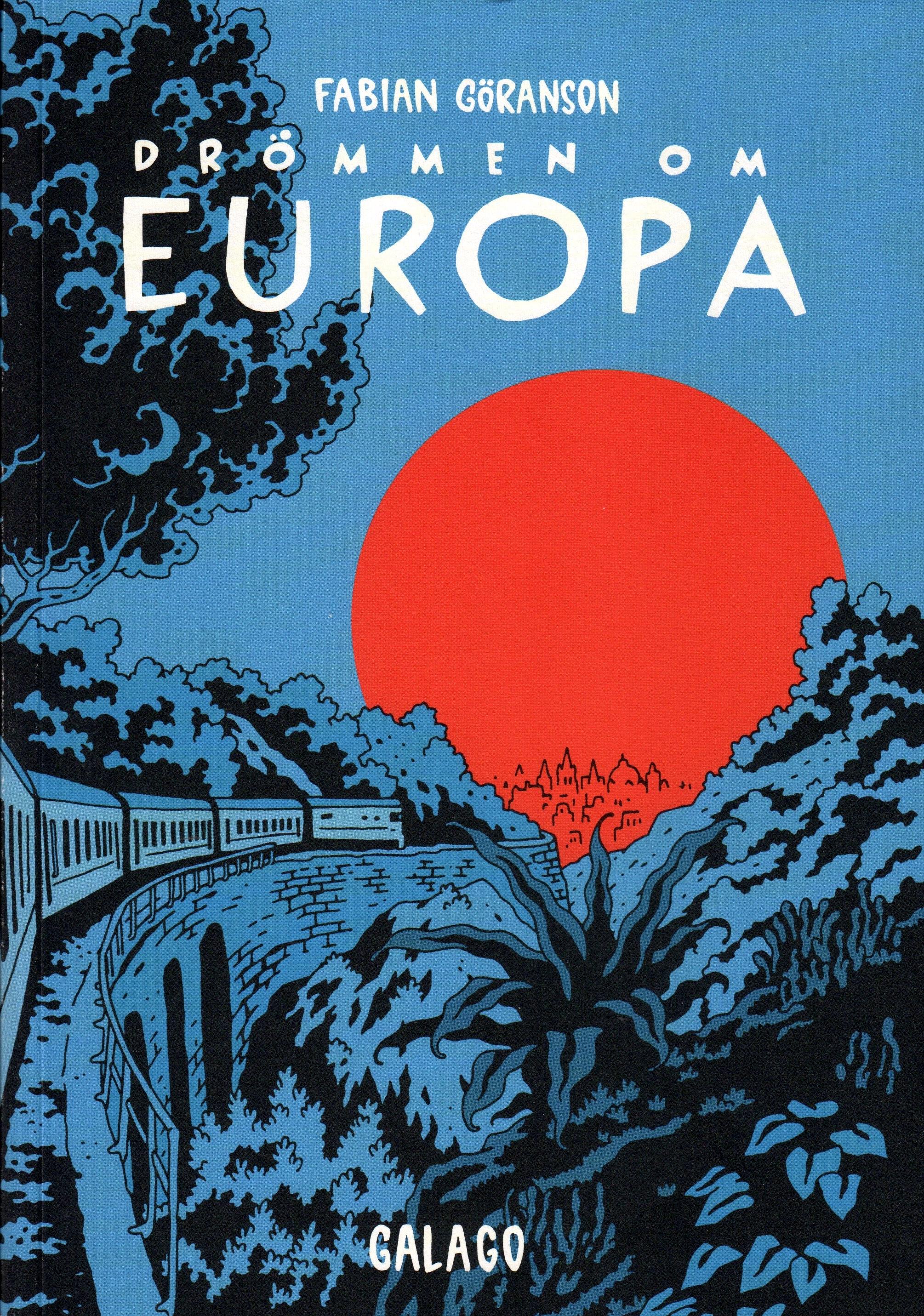 Drömmen om Europa - omslag