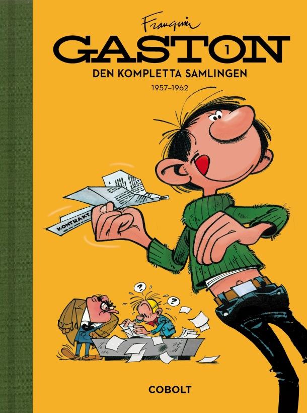Gaston 1 - omslag